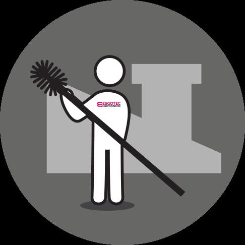Esgotec Desentupimentos Icon Limpeza de Chaminé